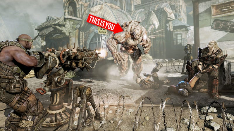 Illustration for article titled Tips for Kicking COG Ass in Gears of War 3's Beast Mode