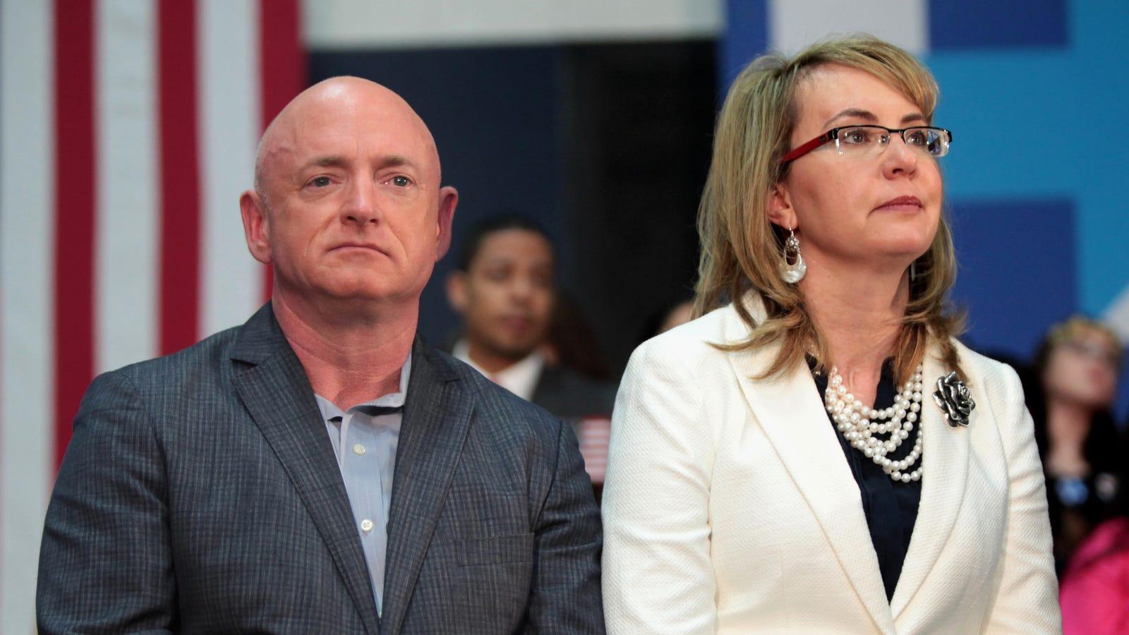 Mark Kelly, Retired Astronaut and Husband of Gabby Giffords, Announces Senate Bid
