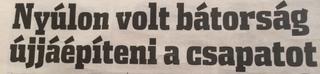 Illustration for article titled Nedvesi bíró felmutatta a pirosat Makkosnak