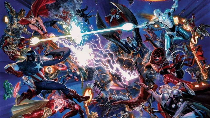 Illustration for article titled The Start of the Next Marvel Universe Is... What the Hell Is Going On?