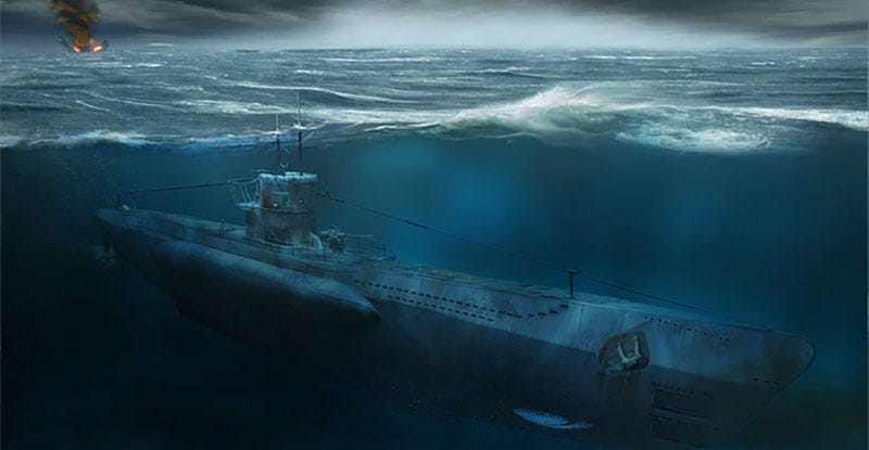 Ww2 Submarine Game Is Basically An Underwater Fallout Shelter