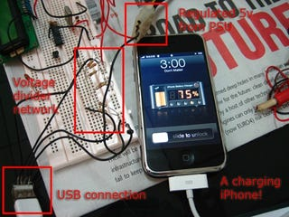 Illustration for article titled Simple Hack Turns USB Charger Units into iPhone Chargers