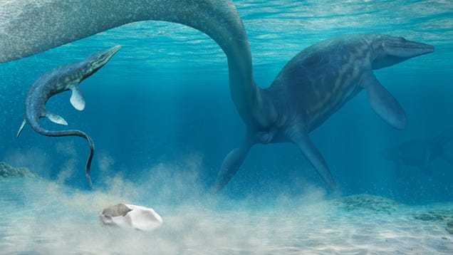 Early Dinosaurs and Prehistoric Sea Monsters Laid Squishy Eggs