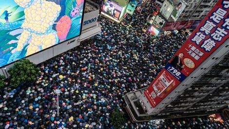 YouTube Dismantles 'Influence Operation' Targeting Hong Kong