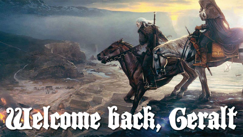 Illustration for article titled The Witcher 3 Announced, First Artwork Revealed [Update: More Artwork, Video]