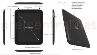 """Illustration for article titled Leak: Full Specs For HP's 9.7"""" Topaz WebOS Tablet"""