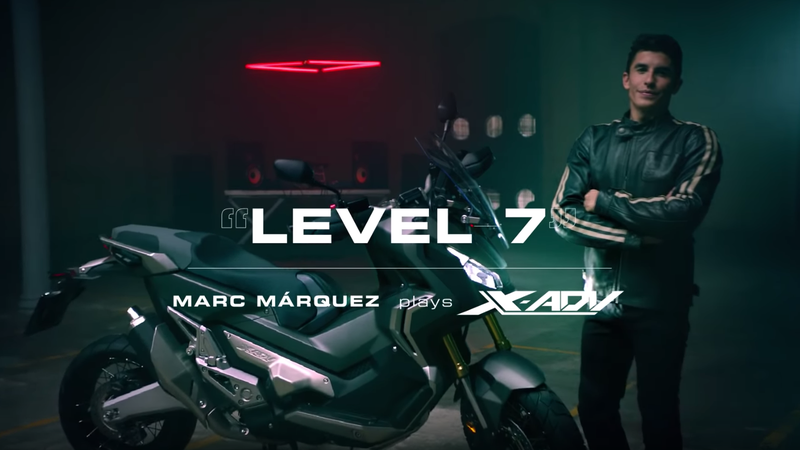 Illustration for article titled Marc Marquez Making Music out of a Honda X-ADV Is What ASMR Was Made For