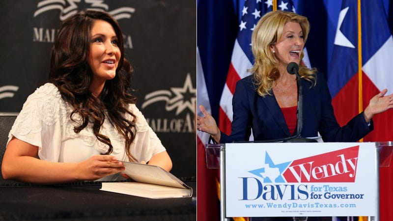 Illustration for article titled Bristol Palin Is Trying to Pick a Pointless Fight With Wendy Davis