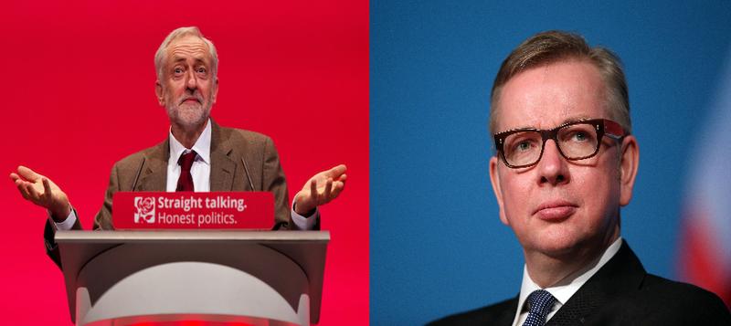 Jeremy Corbyn MP and Michael Gove MP