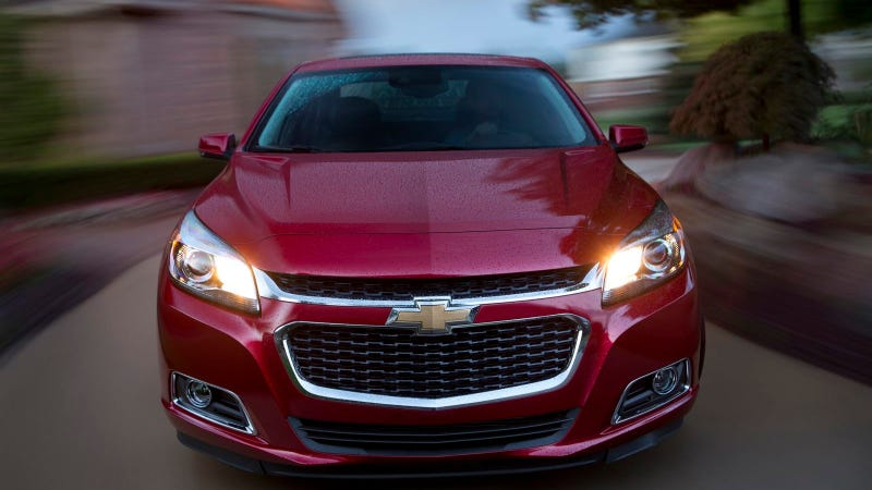 Illustration for article titled 2014 Chevrolet Malibu Offers Hands-Free Texting