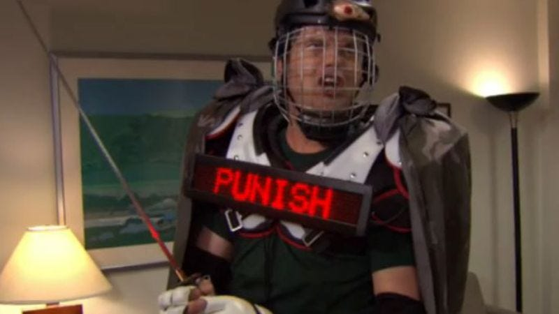 Rainn Wilson as Recyclops in The Office
