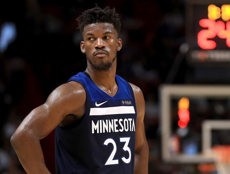 Illustration for article titled Jimmy Butler Gives Wolves List Of 29 Preferred Trade Destinations