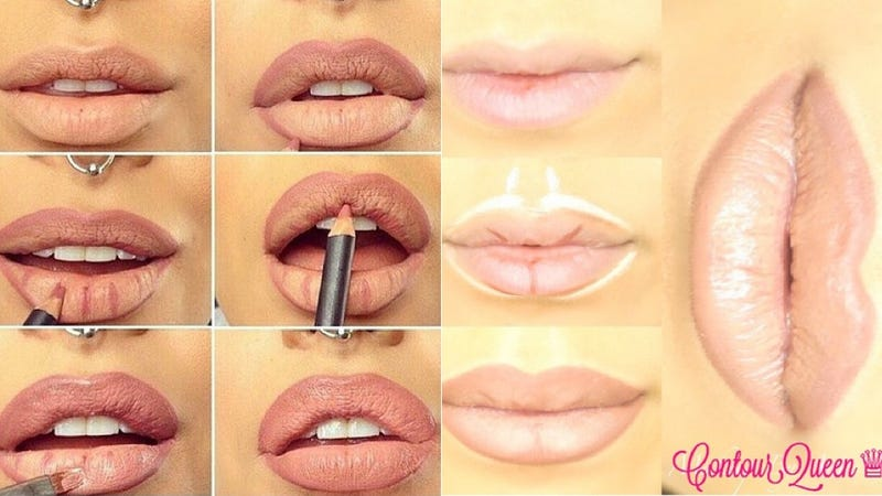 Illustration for article titled So, Apparently Lip Contouring Is a Thing (That We'll Never Do)