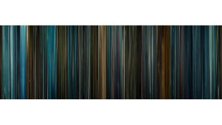 Illustration for article titled Classic Sci-Fi Films Represented as Multicolored Barcodes