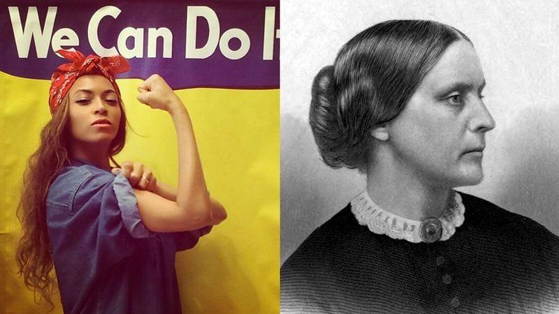 Beyoncé Makes Susan B. Anthony Look Like A Shit-Sucking Gutter Feminist