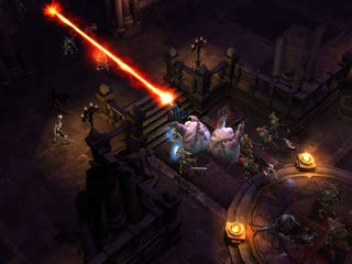 Illustration for article titled Diablo III's Wizard - Behind The Magic