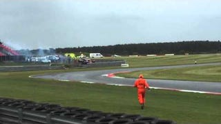 Wile E. Coyote Crashes Jet Powered Mini