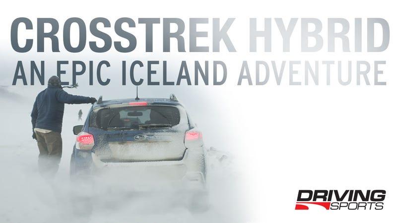 Illustration for article titled Surviving Iceland in the Crosstrek Hybrid