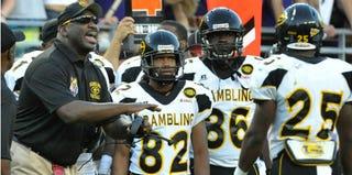 Grambling State University's 2012-2013 footbeall team (Fort Worth Star-Telegram/Getty Images)