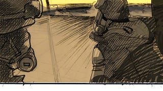 Illustration for article titled Unused storyboards show what the American Akira could've looked like