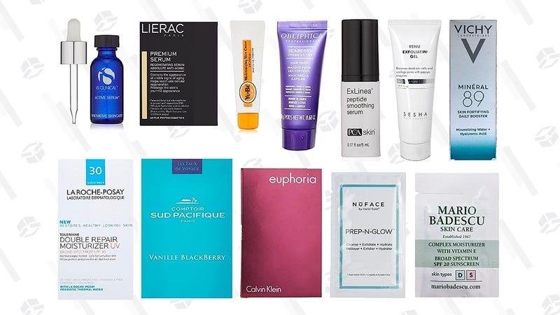 Luxury Skin Care Sample Box | $20 | Amazon