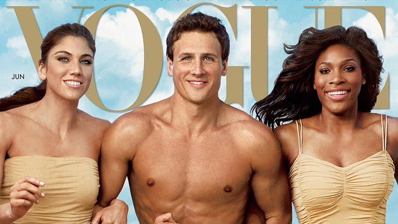 Illustration for article titled Vogue Fails Miserably at Capturing the Athleticism of Olympic Athletes