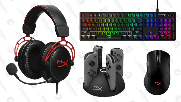 Get Hype: HyperX Gaming Accessories Are up to 50% off at Amazon Today