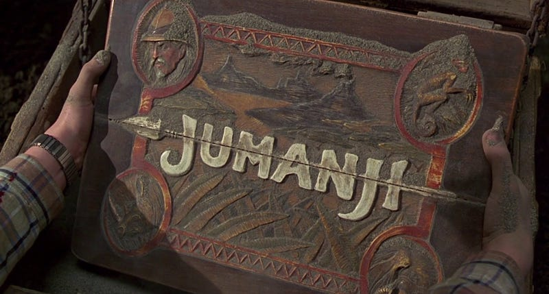 Illustration for article titled Forget theJumanji Remake Rumors, Let's Rewatch the Orignal