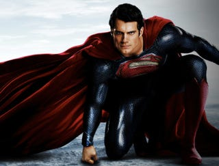 """Illustration for article titled Man of Steel: """"for a homeless guy, he's pretty cut..."""""""