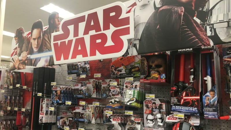 Target shelves shortly after midnight on Force Friday. All Image: Germain's iPhone