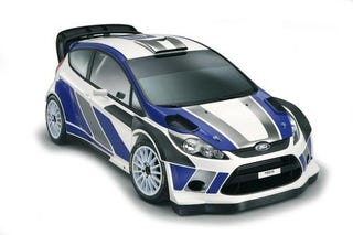 Illustration for article titled 2011 Ford Fiesta RS WRC