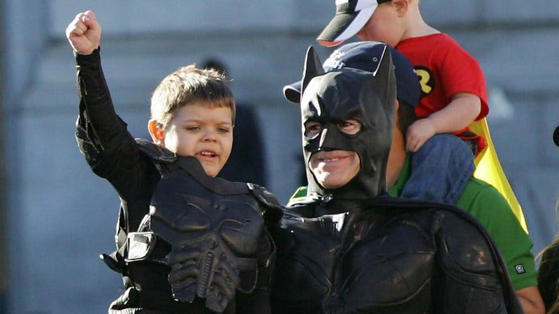 Illustration for article titled Batkid Begins milks a touching human-interest story for everything it's worth