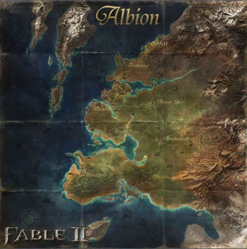 Illustration for article titled Print Up A Fable II Albion Wall Map