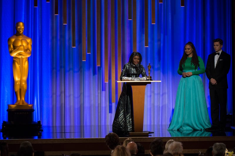Honorary Award recipient Cicely Tyson accepts the award at the 2018 Governors Awards in The Ray Dolby Ballroom at Hollywood & Highland Center® in Hollywood, CA, on Sunday, November 18, 2018.