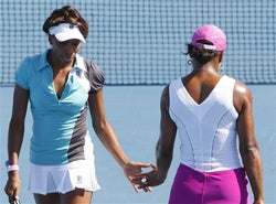 Illustration for article titled Girly Fashions At The Australian Open: Game, Set, Matching Headbands
