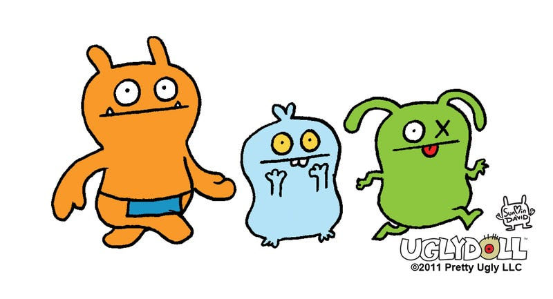 The Uglydolls are one of three new animated films coming from STX Entertainment. Image: Uglydoll