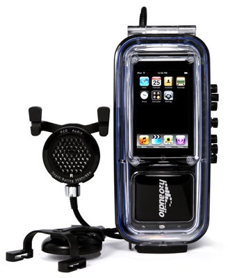 Illustration for article titled iDive iPod Case and Speakers Are Waterproof Up to 300 Feet