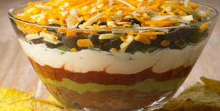 Illustration for article titled Seven-Layer Dip Layers, Ranked