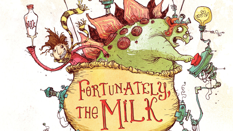Illustration for article titled Johnny Depp In Talks To Join Neil Gaiman's Fortunately, The Milk Film