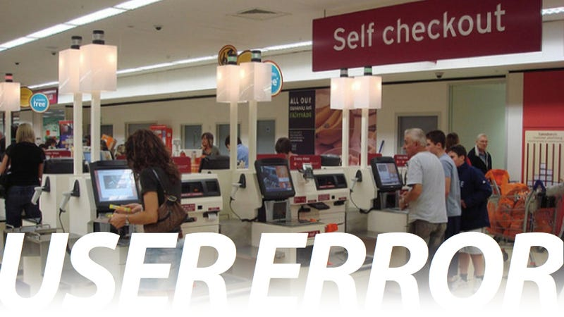 Illustration for article titled Self-Checkout Luddites Are Starting to Damage My Calm