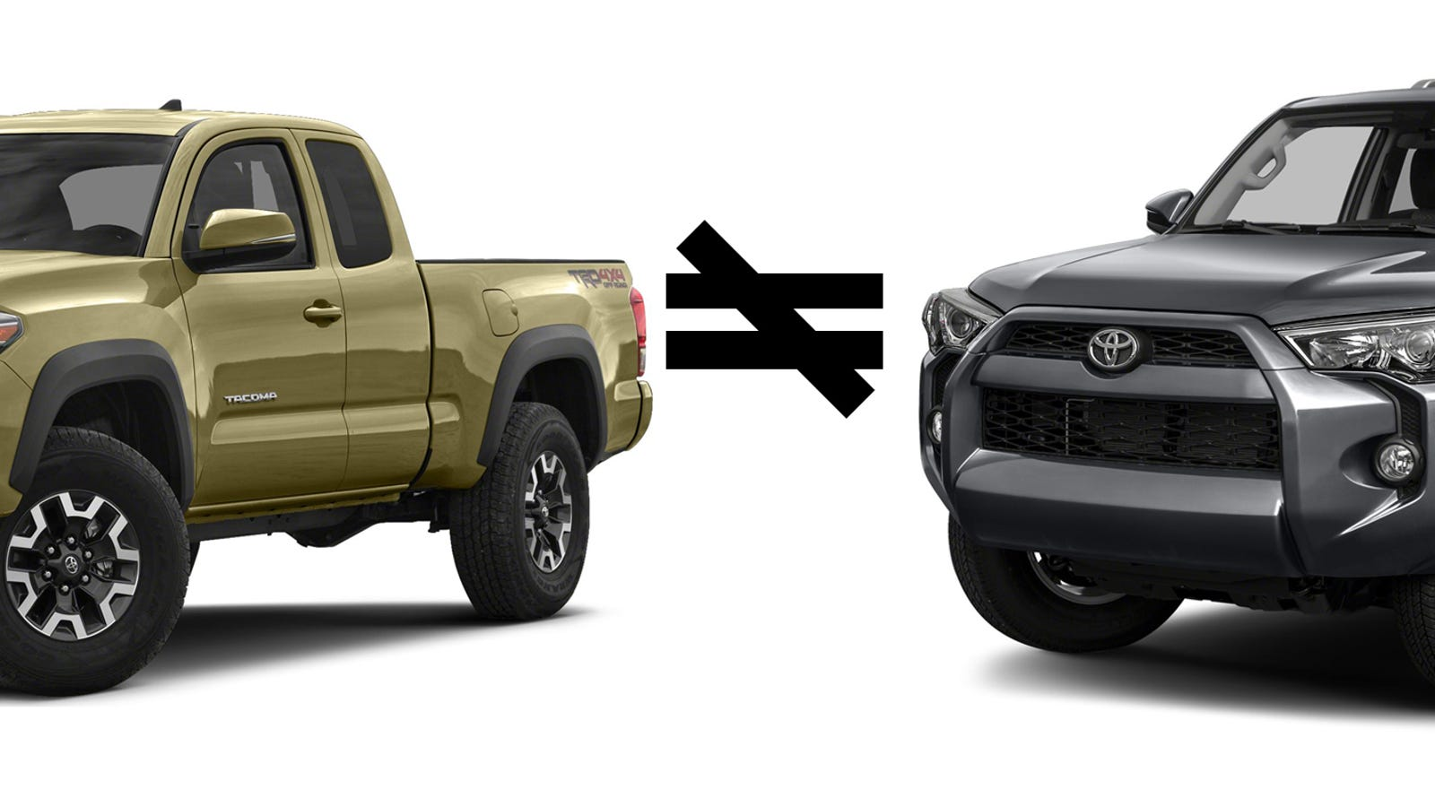 The Tacoma and the 4Runner - A Tale of 2 Trucks