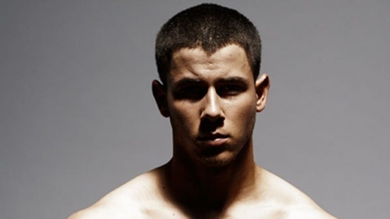 Illustration for article titled Nick Jonas Removes Clothes, Bares Butt, Reminds Us That God Is Good