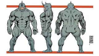 Illustration for article titled Paul Giamatti is in talks to play The Rhino in Amazing Spider-Man 2. Wait, what?