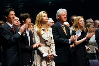 Illustration for article titled Texas Lingerie $$ Church People Love Them Some Clinton Family!