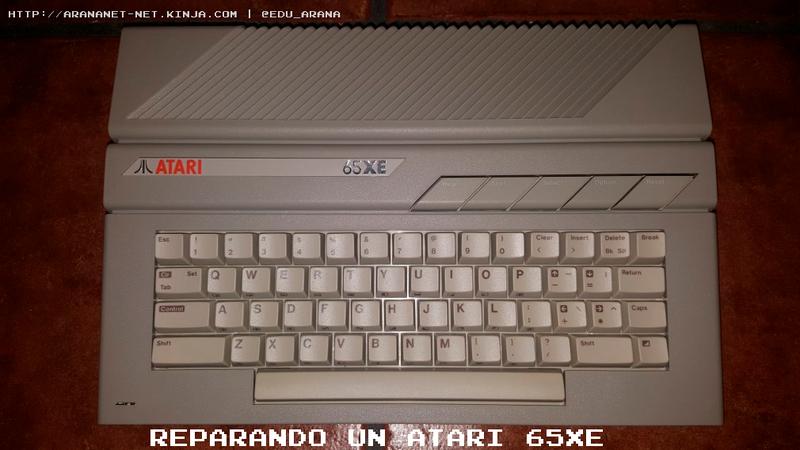 Illustration for article titled Reparando un Atari 65XE