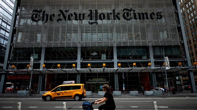 New York Times Lawyer Mistakenly Sends Private Email on How to Deal With the Union to… the Union