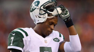 New York Jets quarterback Geno SmithAndy Lyons/Getty Images