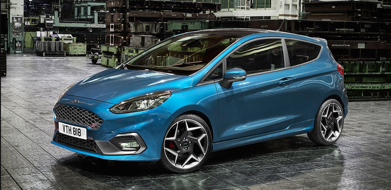 Illustration for article titled The 2018 Ford Fiesta ST Is Your New Three-Cylinder Turbo Demon Hatch