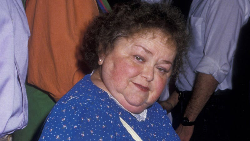 Zelda Rubinstein attends a Cirque Du Soleil performance back in 1987