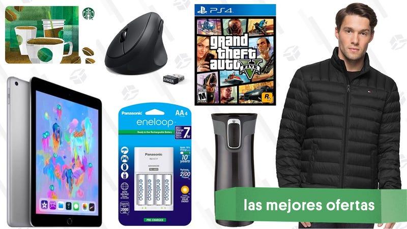 Illustration for article titled Las mejores ofertas de este miércoles: GTA 'gratis', abrigos de invierno, iPads por $229 y más